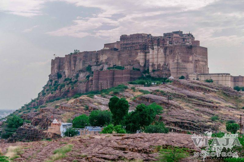Fuerte Mehrangarh de Jodhpur