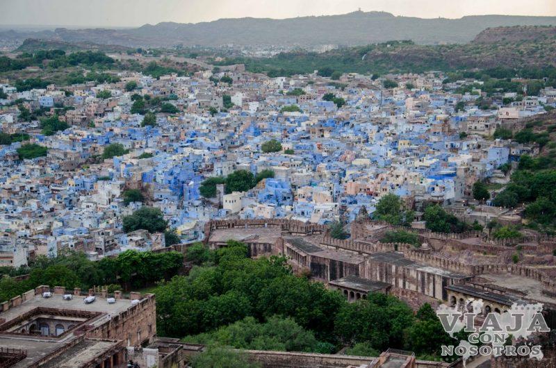 BJodhpur la Ciudad Azul