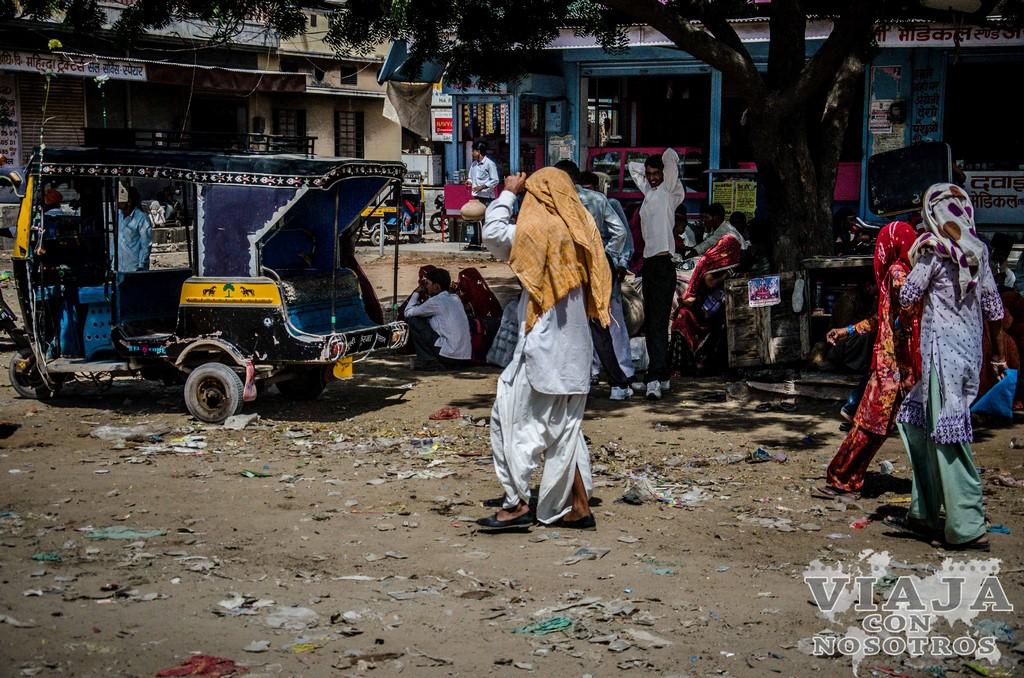 Ruta de viaje por la India