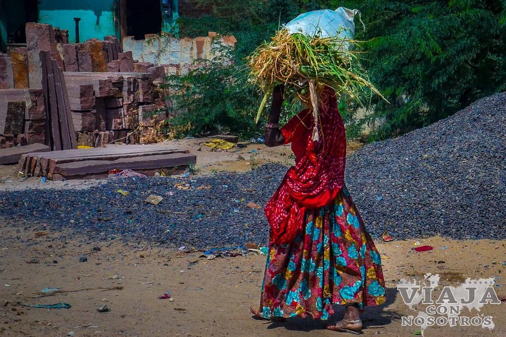Mandawa, la ciudad de las havelis en el norte de India