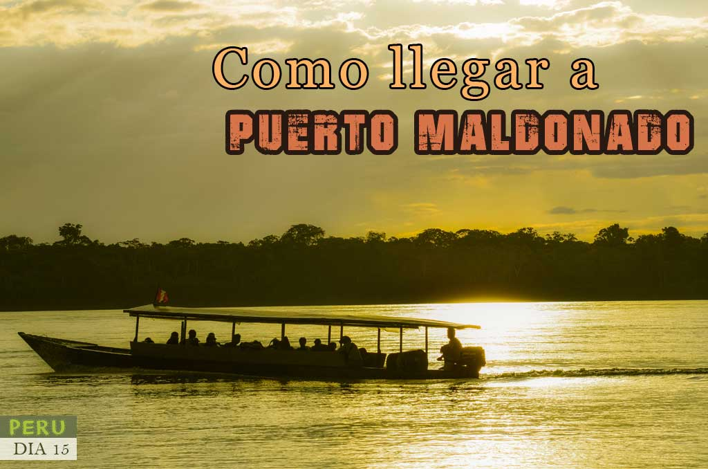 Como llegar de Cusco a Puerto Maldonado