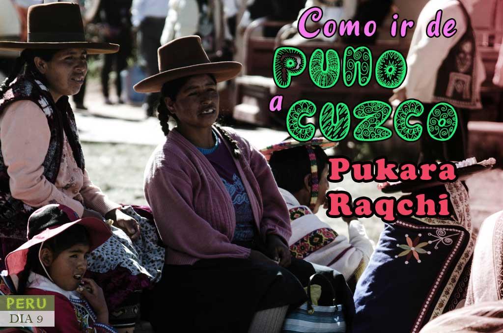 Como ir de Puno a Cusco