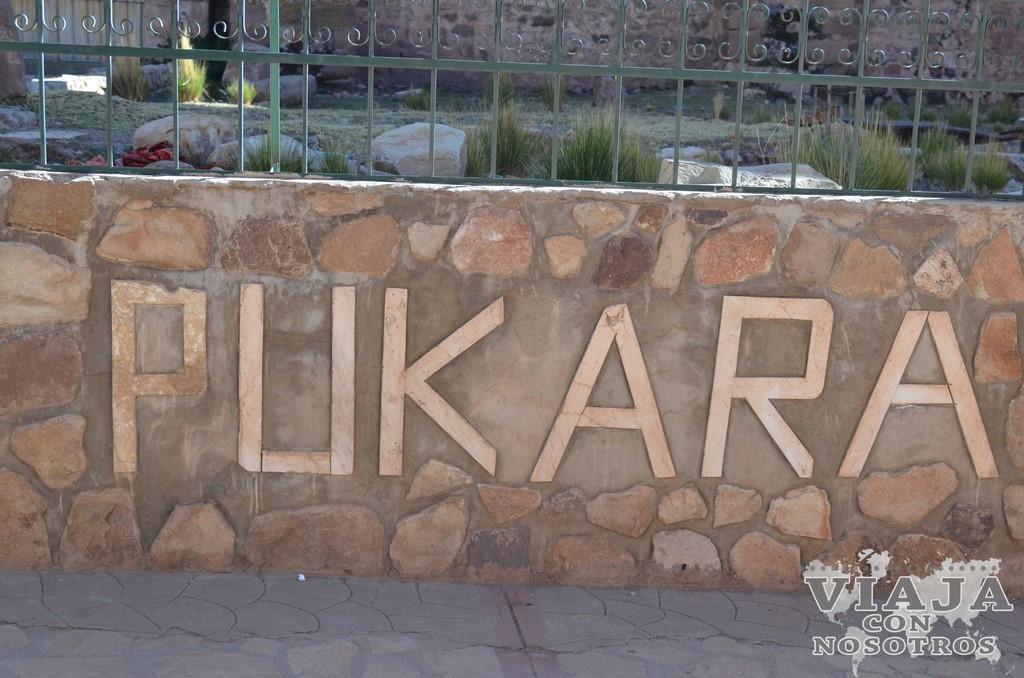 Que ver en Pukara
