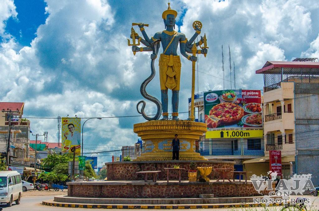Recorrido de la ciudad de Battambang