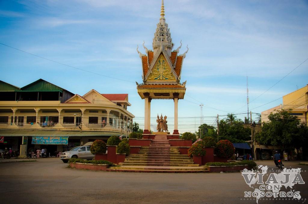 Monumentos para ver en Battambang