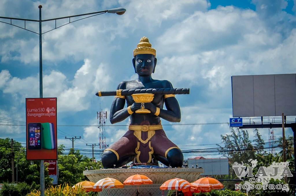 Estatua Ta Dumbong de Battambang