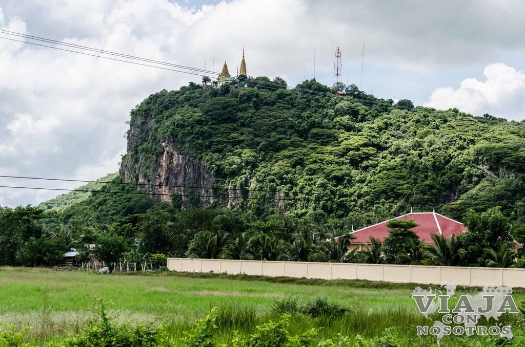 Templo de Phnom Sampeau y Killing Cave de Battambang
