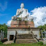 Battambang: Granja de cocodrilos, Wat Ek Phnom, Wat Phnom Banan, Phnom Sampeau y Killing Cave y Tren de bambú
