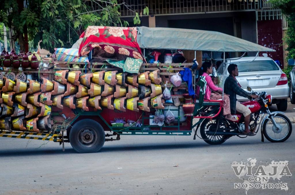 Ruta de viaje a Camboya en dos semanas