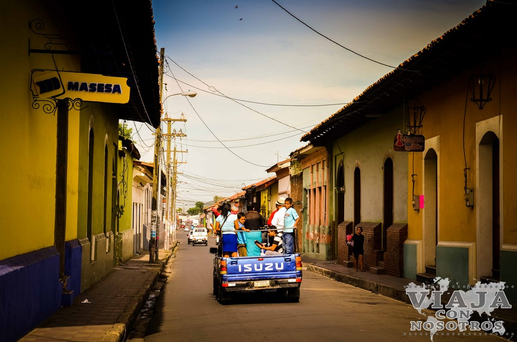 Estación de autobuses de León Nicaragua