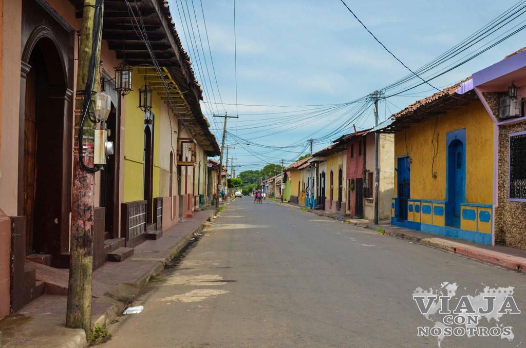 Como moverse por León Nicaragua