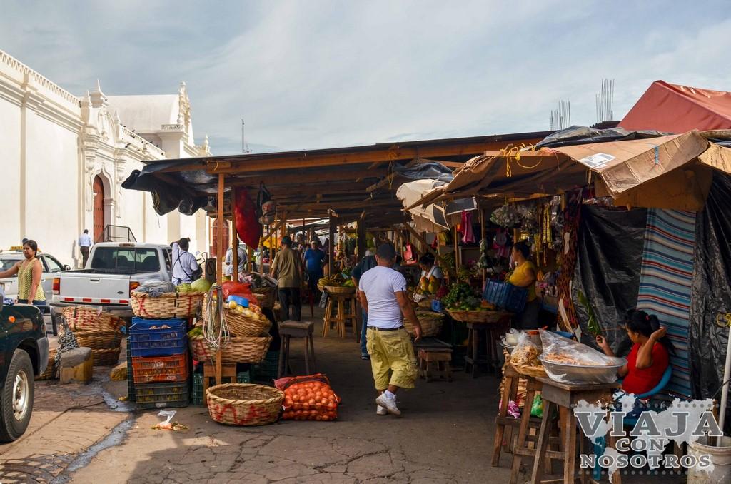 Mercado de León Nicaragua