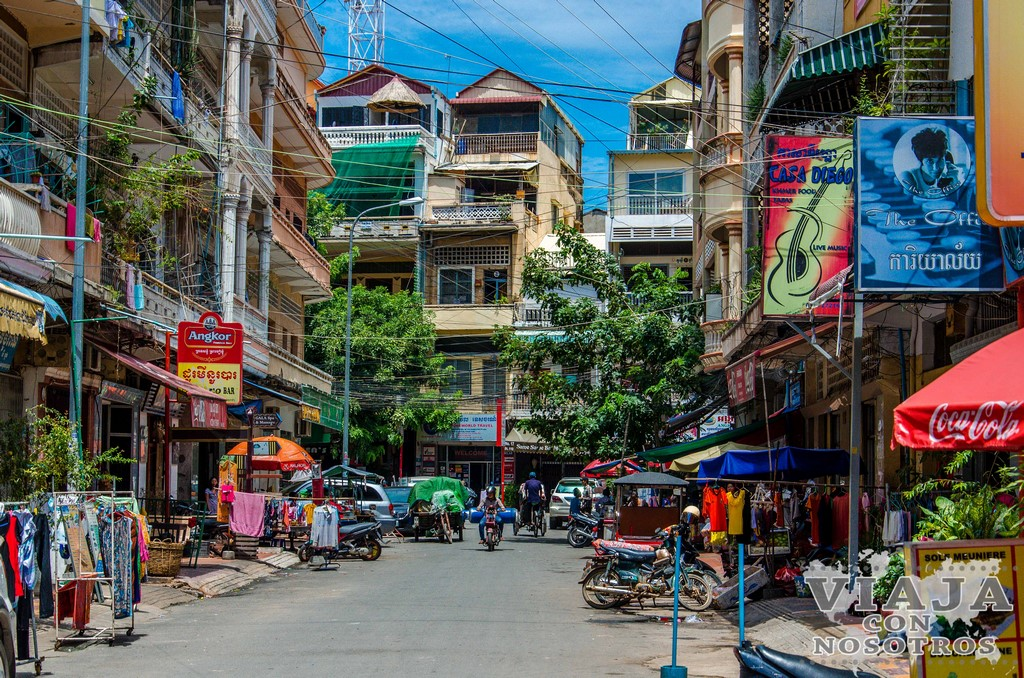 Mercado central de Phnom Penh