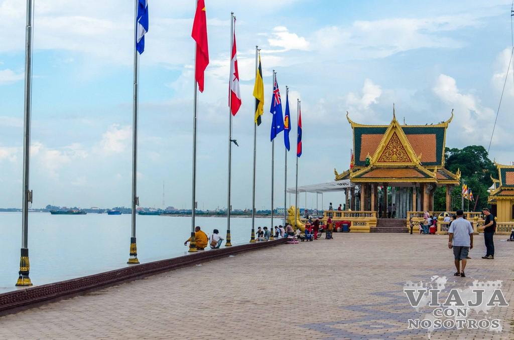 Visitar el Sisowath Quayh de Phnom Penh