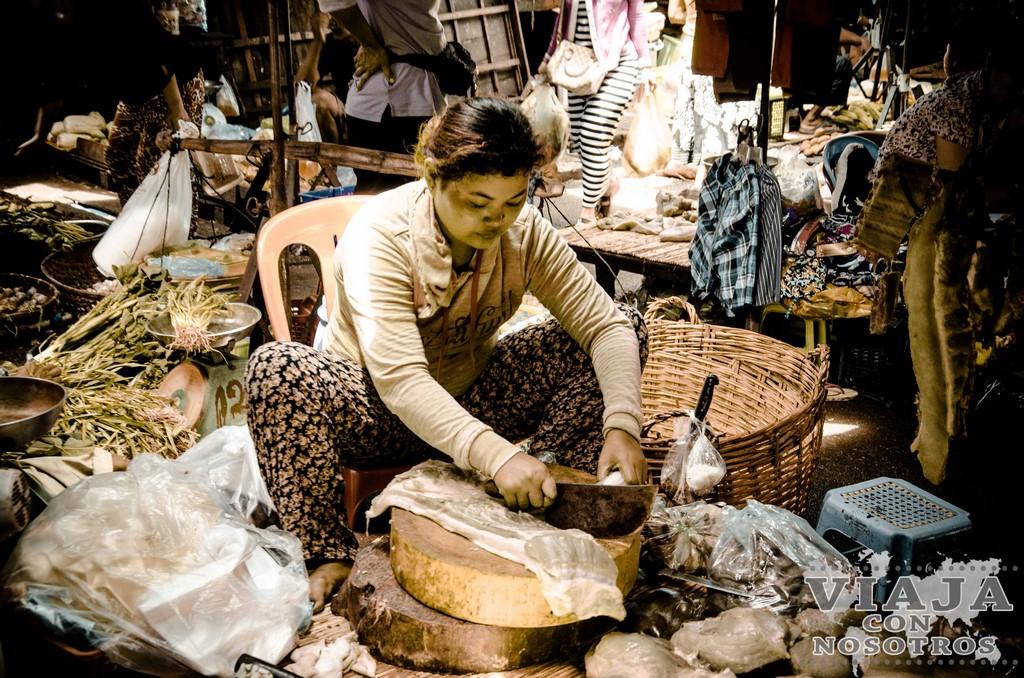 Old Market Phnom Penh