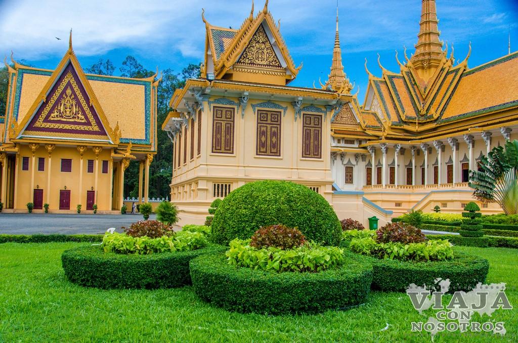 Entrada al Palacio Real de Phnom Penh