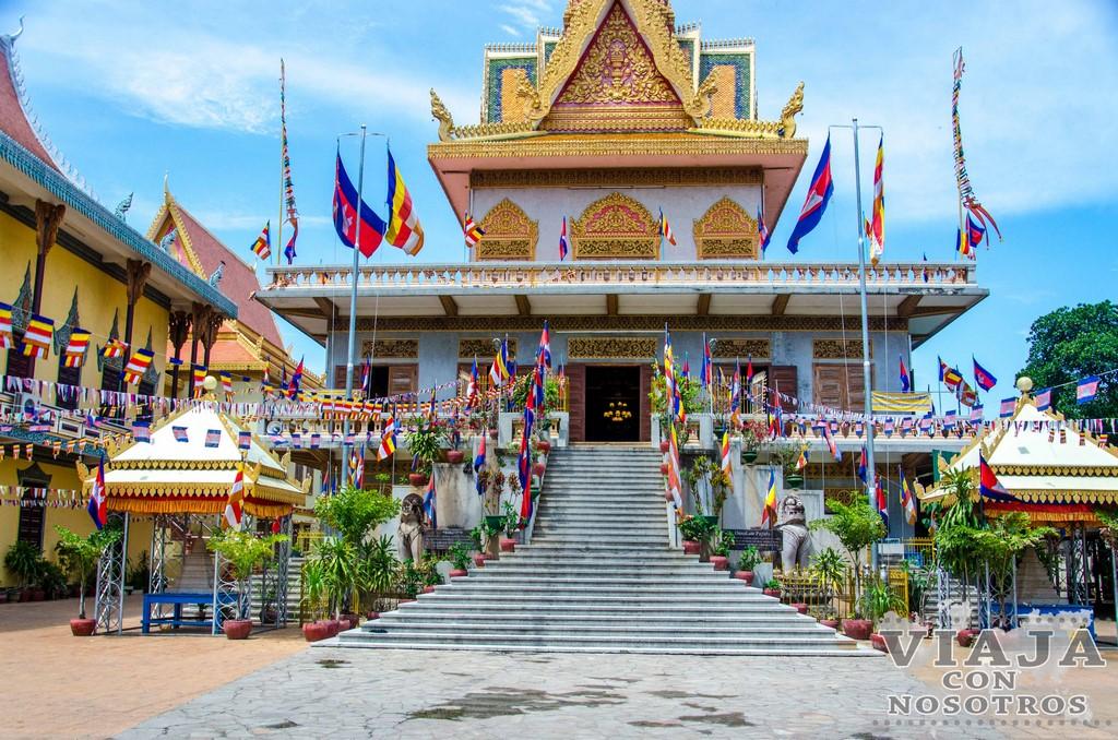 Templo Wat Ounalom de Phnom Penh