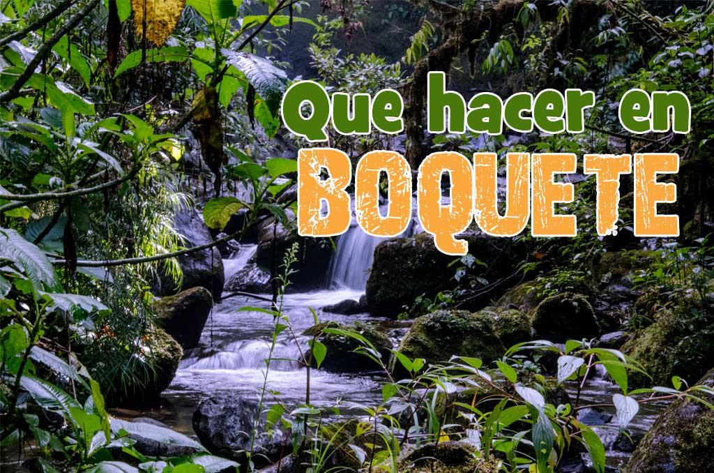 Que ver y que hacer en Boquete