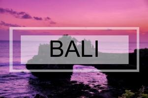 Que ver en Bali