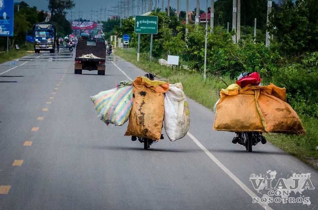 Ir de Battambang a Siem Reap por tu cuenta