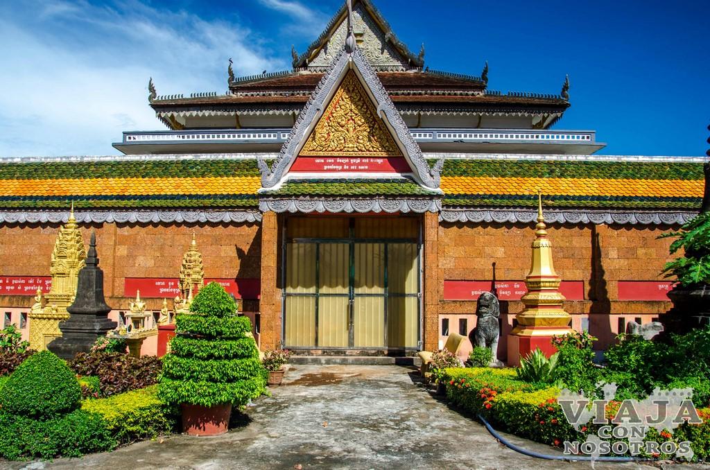 Templo de Wat Preah Prom Rath en Siem Reap