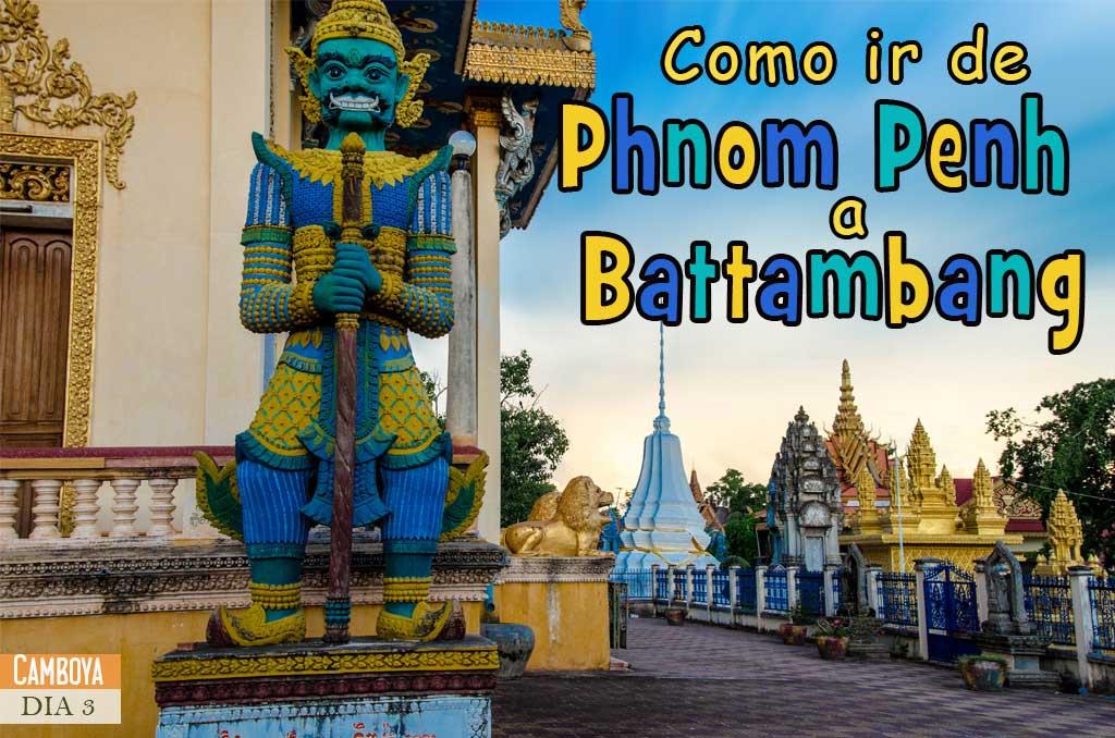 Maneras de llegar a Battambang