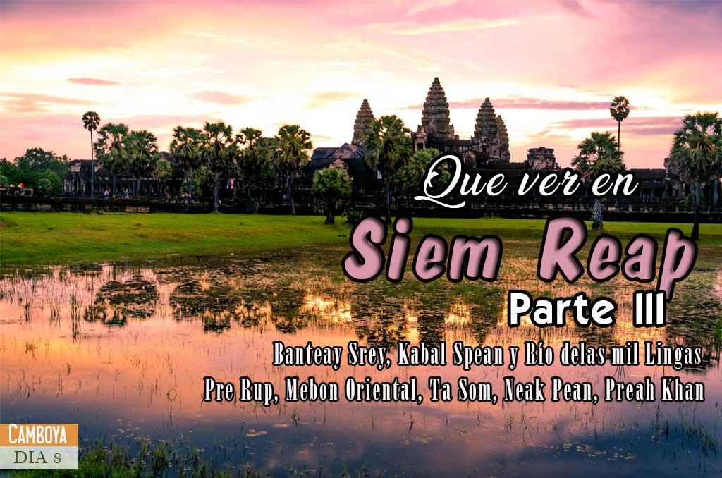 Guía para visitar los templos de Angkor Wat en Camboya