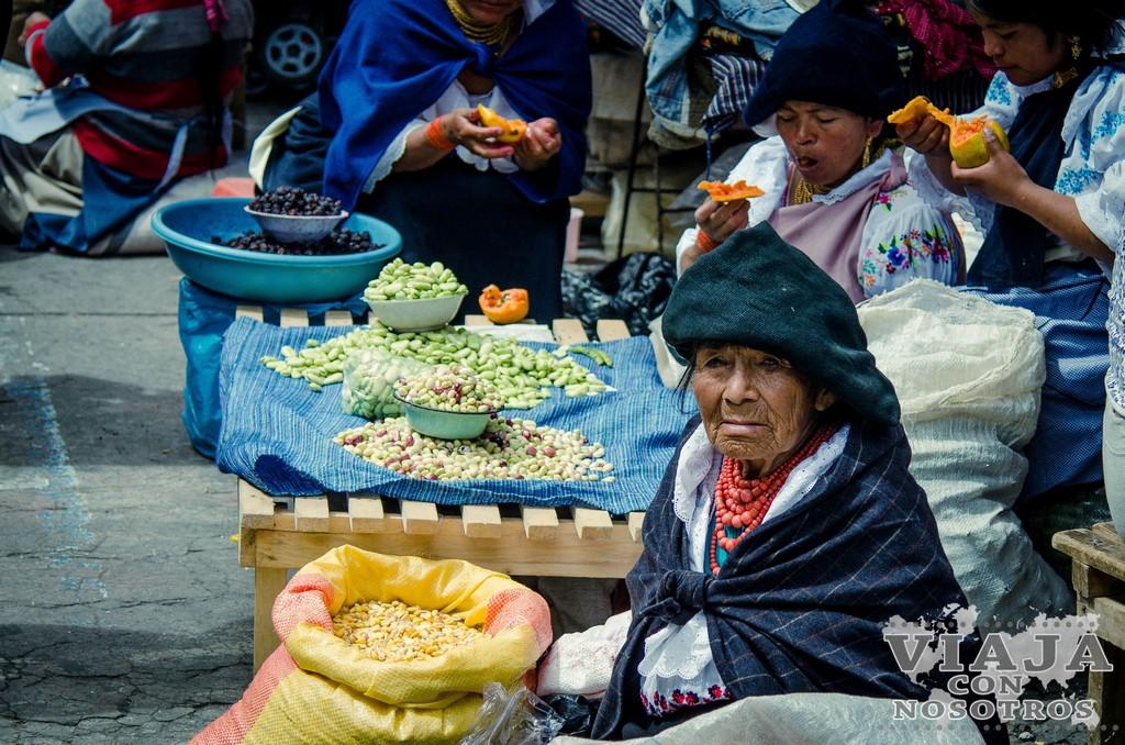 Como visitar el mercado de Otavalo