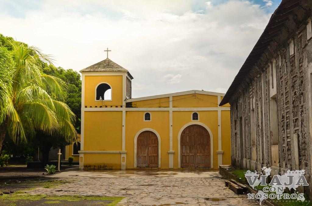 Como llegar a la Laguna verde de la Isla de Ometepe