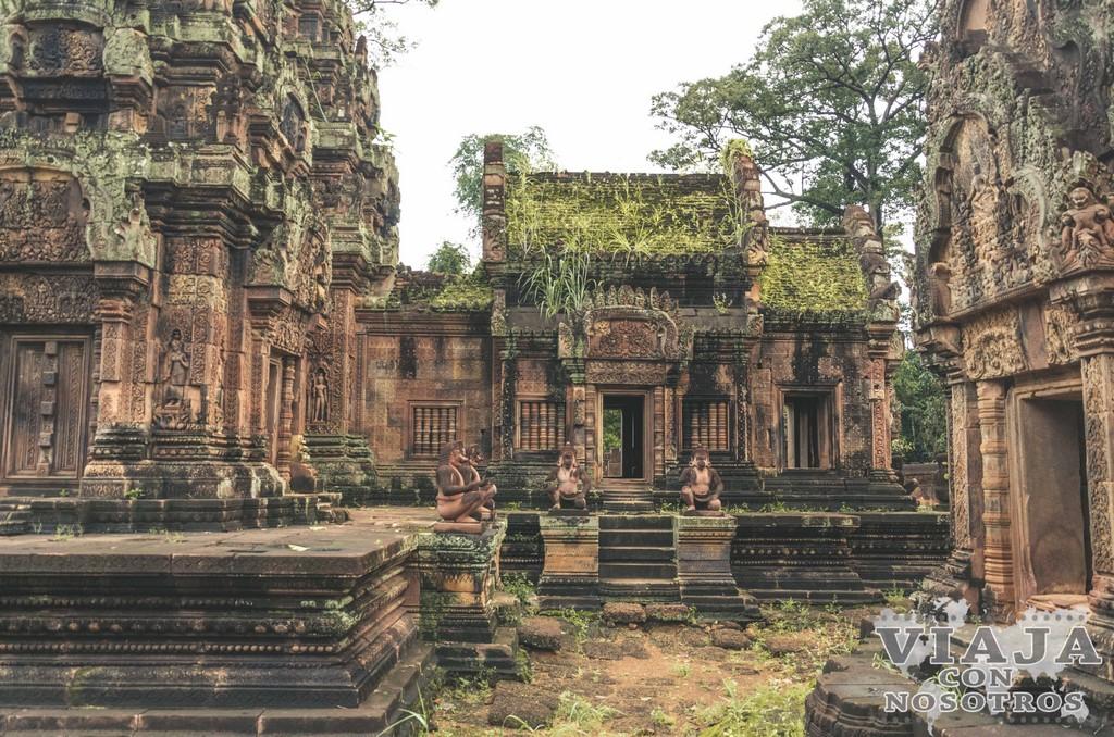 Templo de Banteay Srei en Angkor
