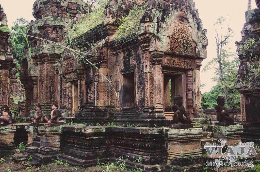Cómo Visitar y Qué ver en templos de Angkor