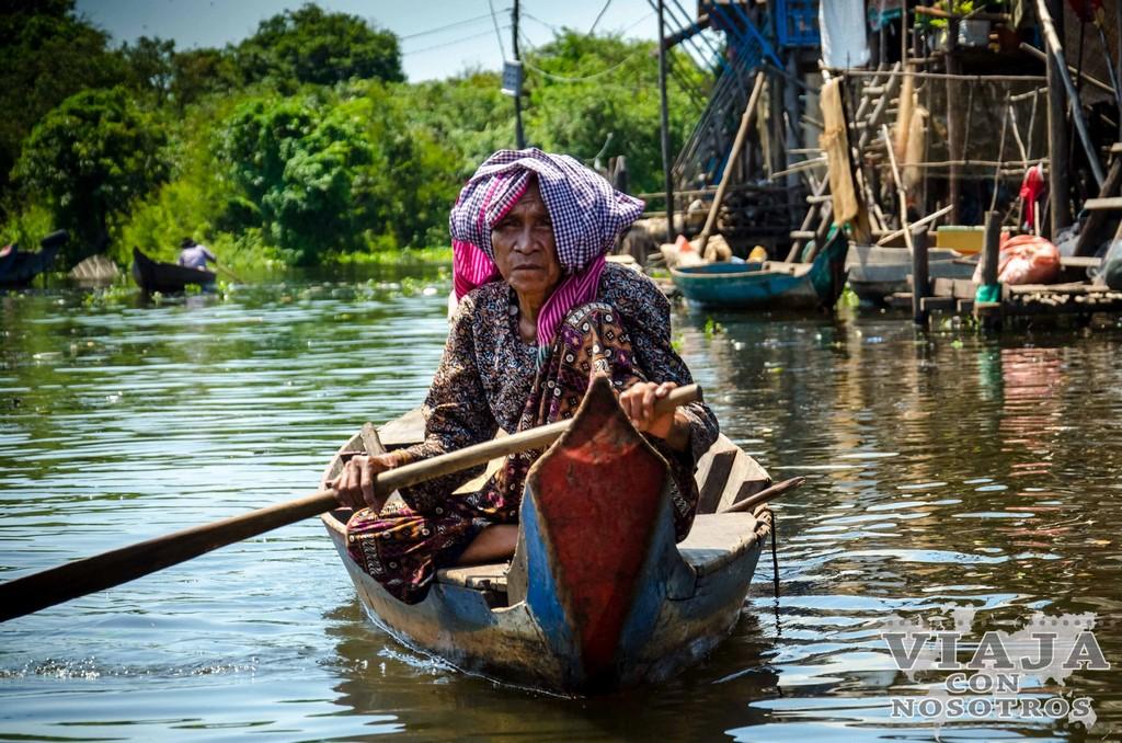 Como visitar el Pueblo flotante Kampong Phluk