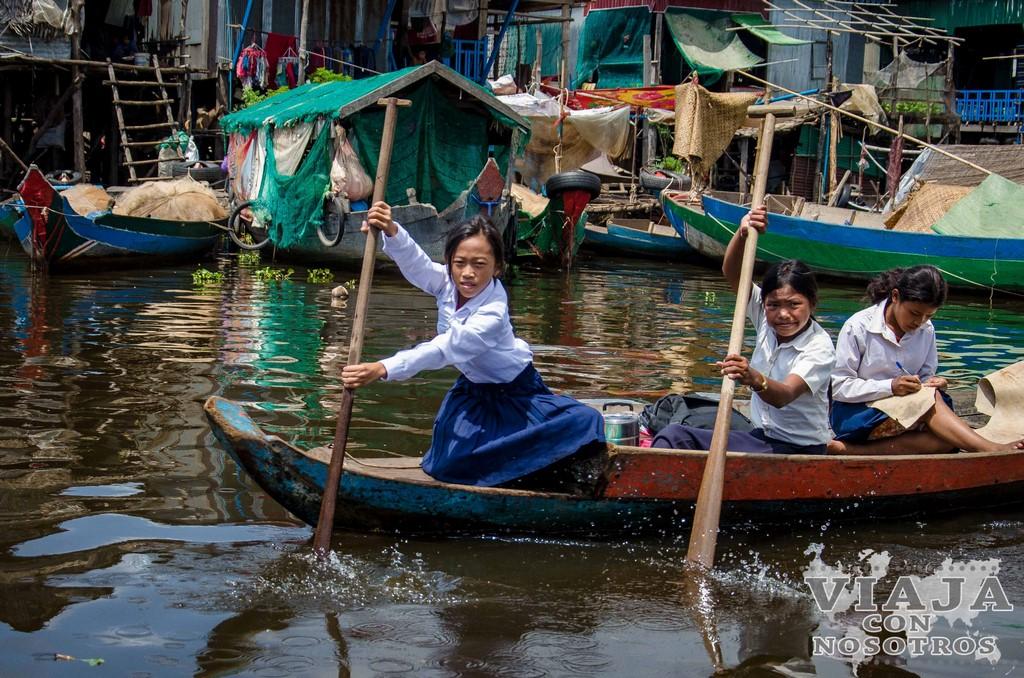 Visita guiada al pueblo flotante de Kompong Phluk