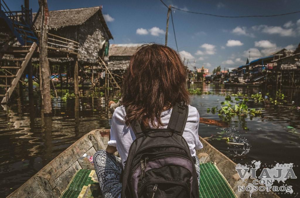 Tonlé Sap y sus pueblos flotantes