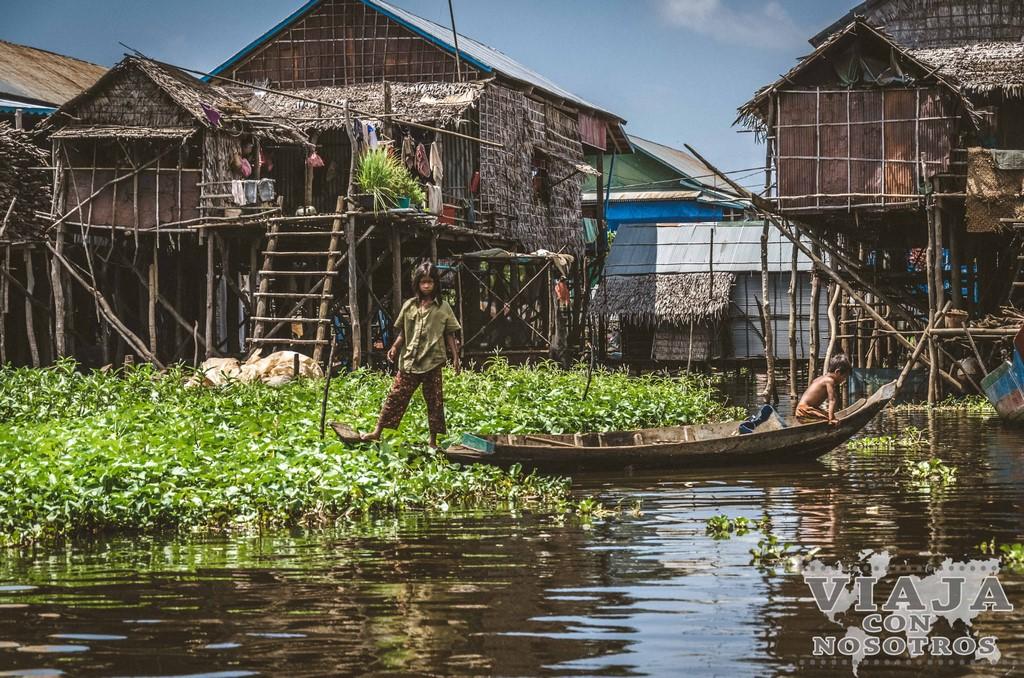 Pueblos flotantes que no debes perderte desde Siem Reap