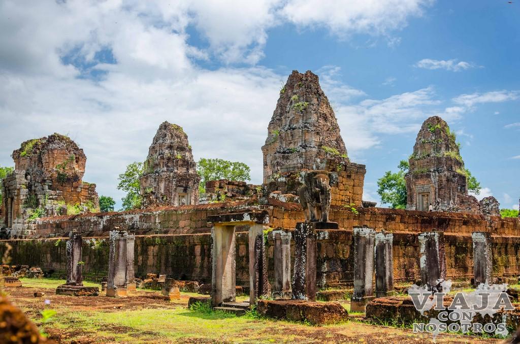 Templo Mebon Oriental en Angkor