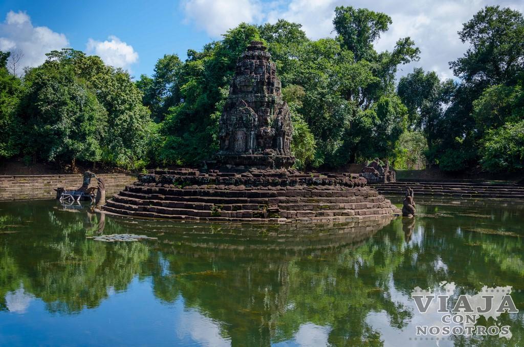 Templo Neak Pean de Angkor