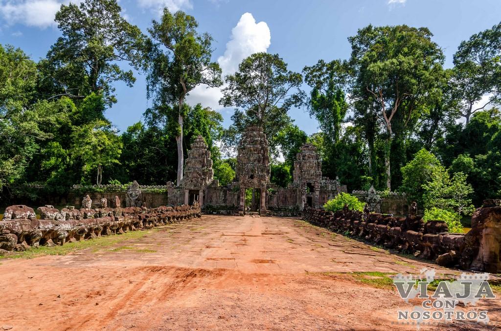 Templo de Preah Khan de Angkor