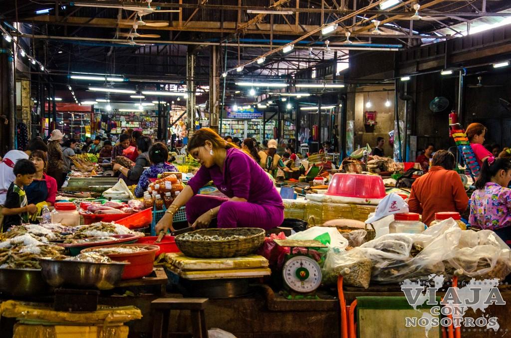 Souvernirs que comprar en Camboya