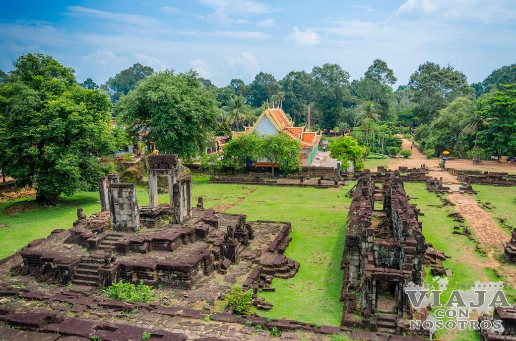 Templo Wat Bakong de Angkor