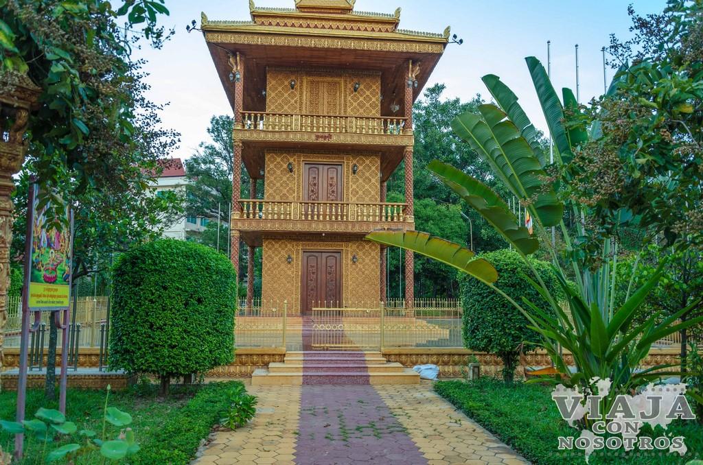 Templo Wat Damnak de Siem Reap