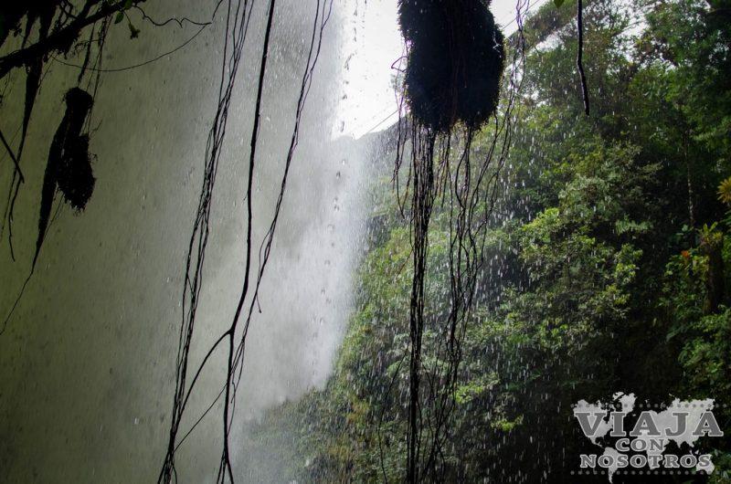 Mejor lugar para ver la la Cascada Pailon del Diablo