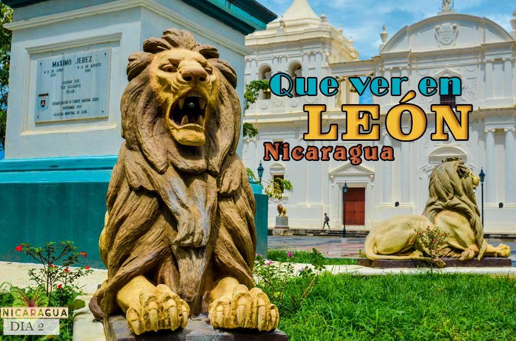Que ver y que hacer en León Nicaragua