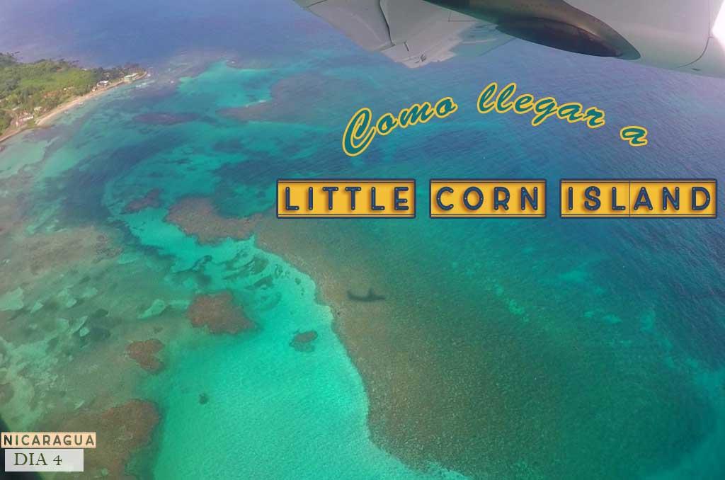 Como llegar a Little Corn Island