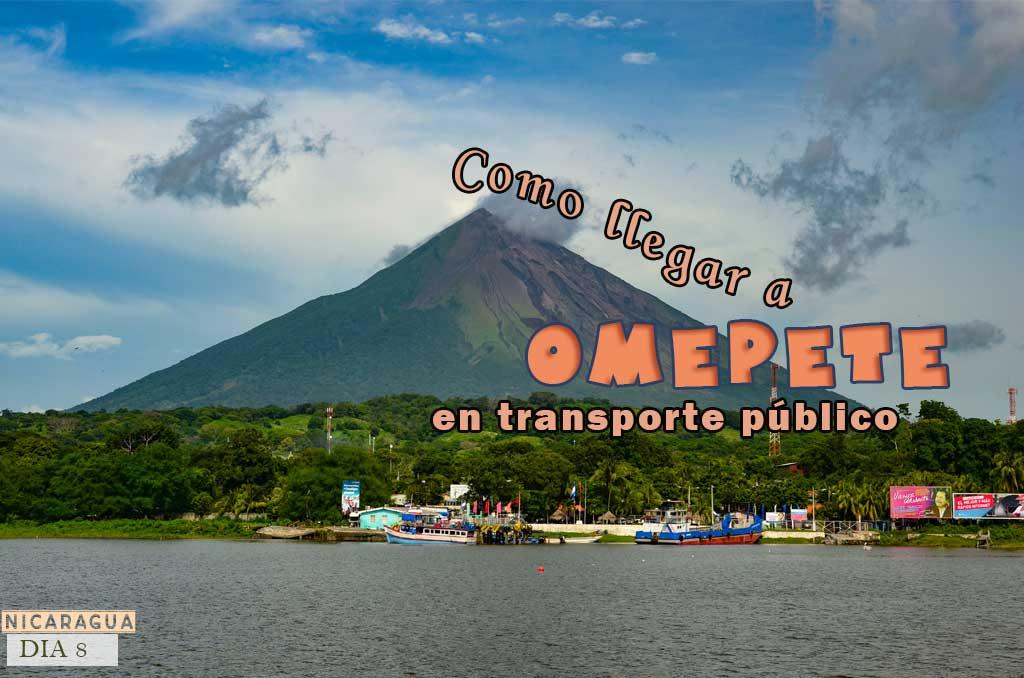 Como llegar a Ometepe