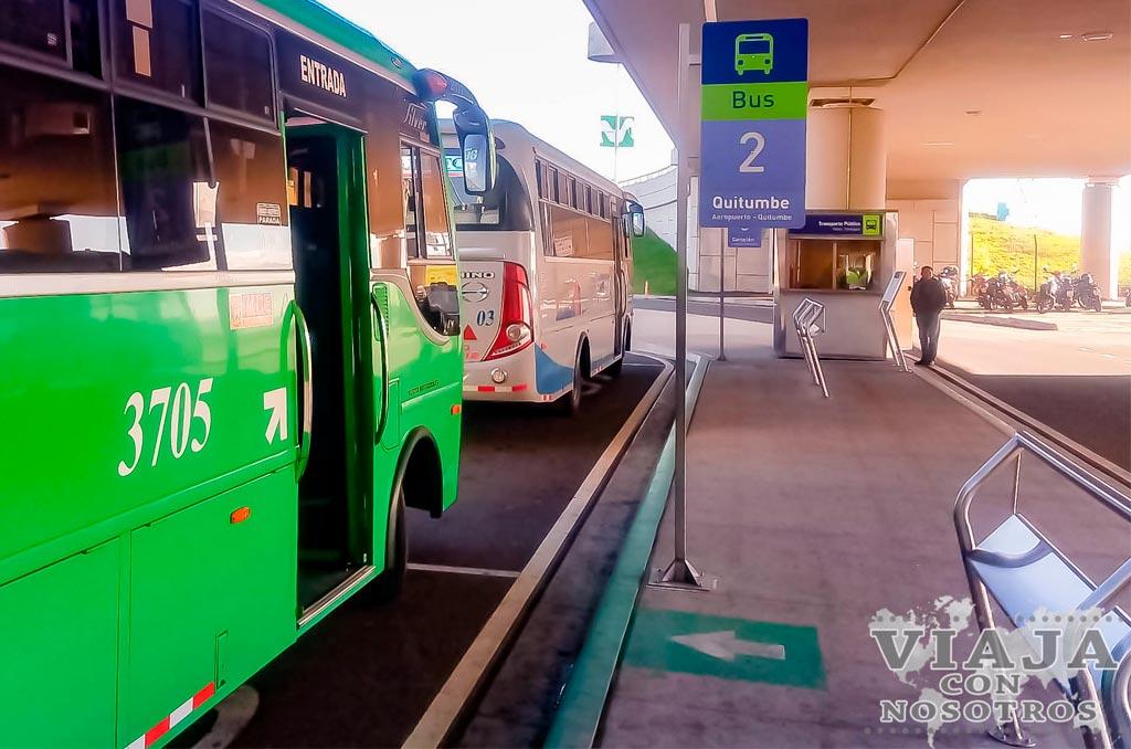 Como moverse por Quito