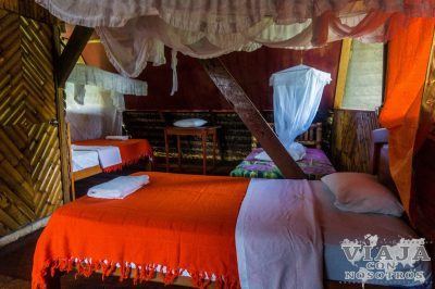 Donde dormir en la Reserva de Cuyabeno