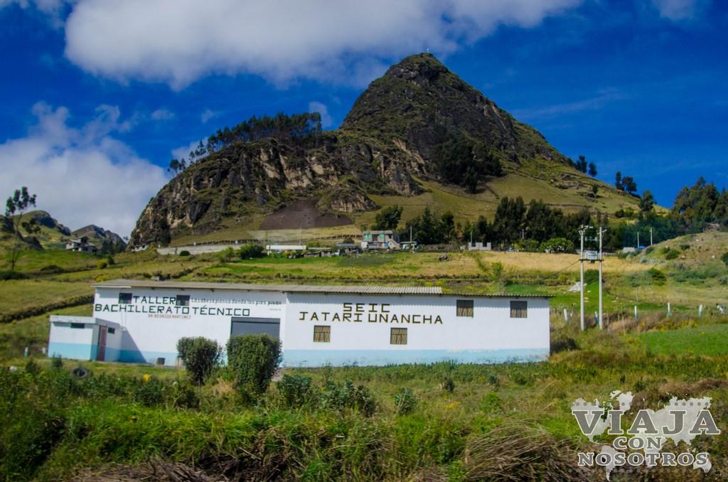Como llegar a la Laguna de Quilotoa por tu cuenta