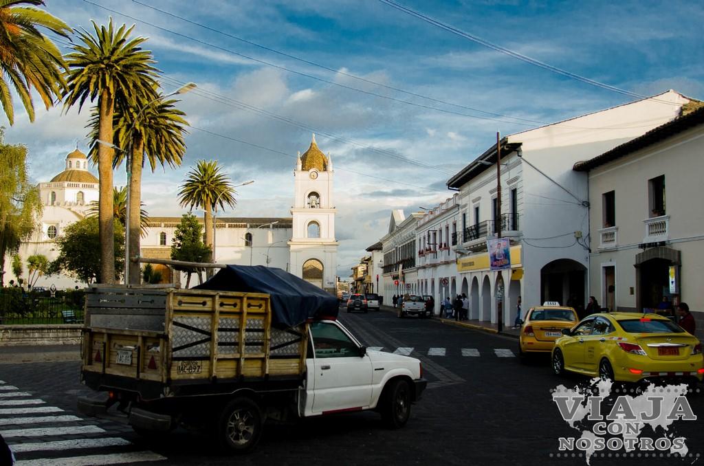 Edificio de la Gobernación de Latacunga