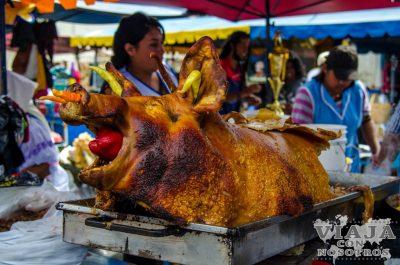 Donde comer en Otavalo